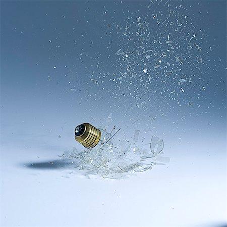 exploding - Light bulb breaking. Stock Photo - Premium Royalty-Free, Code: 618-03607978