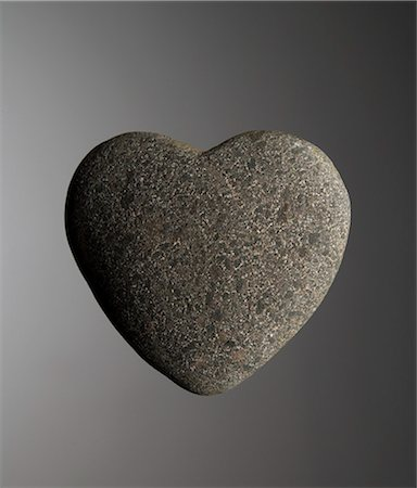 solid - Heart of Stone Stock Photo - Premium Royalty-Free, Code: 618-03608709