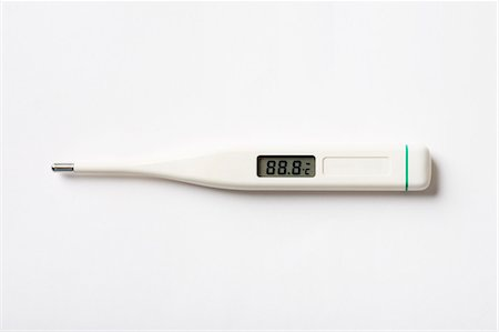 Clinical thermometer Stock Photo - Premium Royalty-Free, Code: 618-03609345