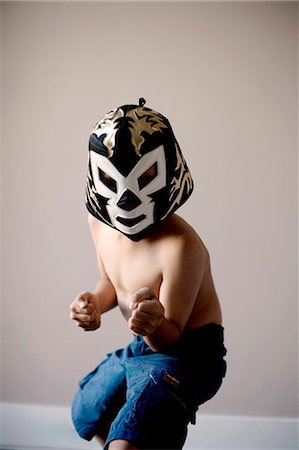 Luchador mask Stock Photo - Premium Royalty-Free, Code: 618-03686853