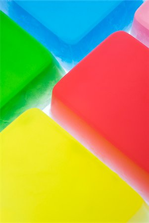 pieces of translucent soap Stock Photo - Premium Royalty-Free, Code: 618-03780298