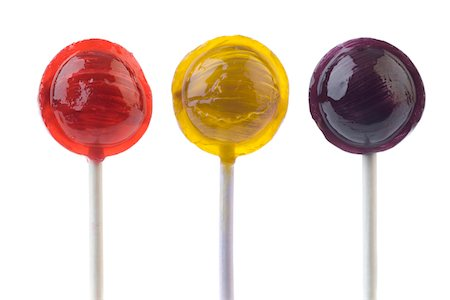 Three Colored Lollipos Stock Photo - Premium Royalty-Free, Code: 618-03780300