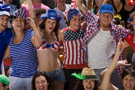 soccer fan - American fans cheering Stock Photo - Premium Royalty-Free, Code: 618-03848471