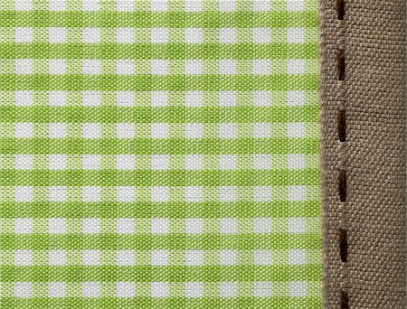 Checkered cloth Stock Photo - Premium Royalty-Free, Code: 618-03848552