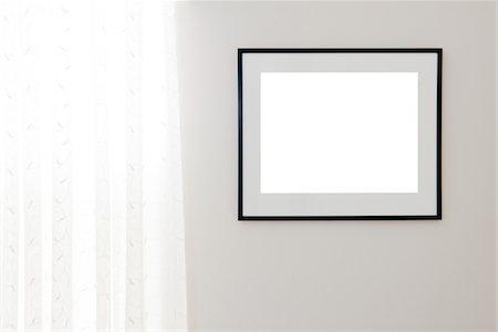 rectangle - Blank Black Frame Stock Photo - Premium Royalty-Free, Code: 618-03848683