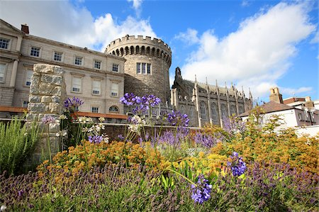 Ireland, Dublin, Dublin castle Stock Photo - Premium Royalty-Free, Code: 610-05654999