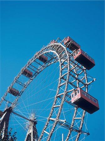 dpruter - Austria, Vienna, The big wheel at Prater amusement park Stock Photo - Premium Royalty-Free, Code: 610-00256127