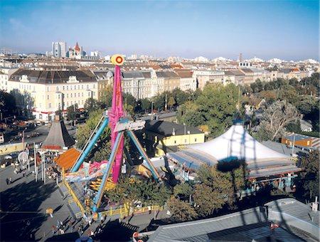 dpruter - Austria, Vienna, View on the Prater amusement park Stock Photo - Premium Royalty-Free, Code: 610-00256130