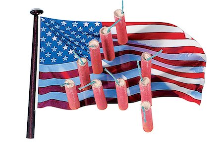 fireworks white background - Celebrations : the 4th of July Stock Photo - Premium Royalty-Free, Code: 610-00683010