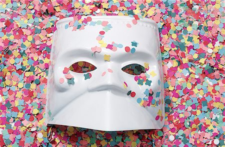Celebrations : carnival mask Stock Photo - Premium Royalty-Free, Code: 610-00683052