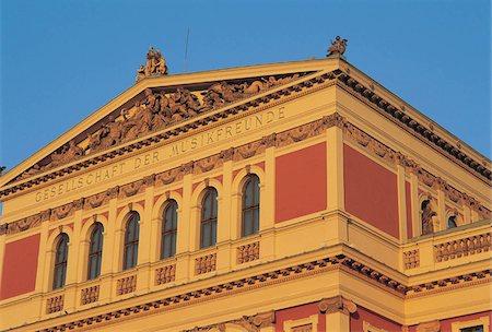Austria, Vienna, Musikverein. Stock Photo - Premium Royalty-Free, Code: 610-00797270