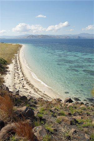 flores - Indonesia, Flores, Lubuanbajo bay, Pulau Sebolan, beach Stock Photo - Premium Royalty-Free, Code: 610-01577377