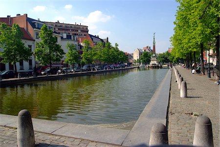 Belgium, Brussels, Sainte Catherine's square Stock Photo - Premium Royalty-Free, Code: 610-03504042