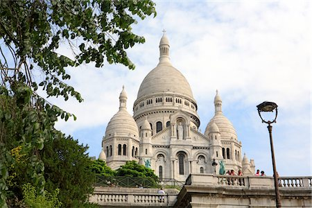 France, Paris, Montmartre, basilique du Sacré coeur Stock Photo - Premium Royalty-Free, Code: 610-03504382