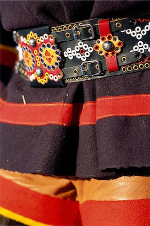 Traditional Lappish clothing, close-up. Stock Photo - Premium Royalty-Free, Code: 6102-03749317