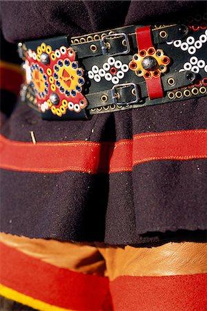 Traditional Lappish clothing, close-up. Stock Photo - Premium Royalty-Free, Code: 6102-03749317