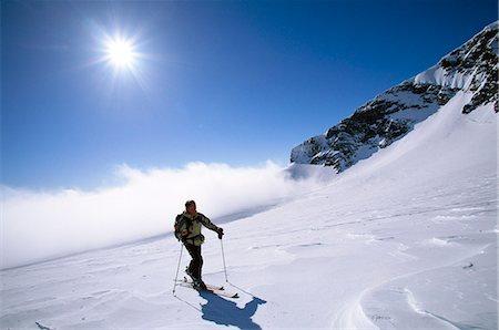 A skier. Stock Photo - Premium Royalty-Free, Code: 6102-03750111
