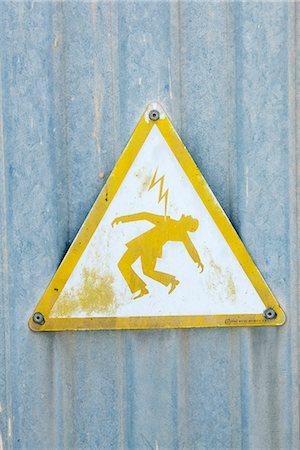 Warning sign, Spain. Stock Photo - Premium Royalty-Free, Code: 6102-03829183