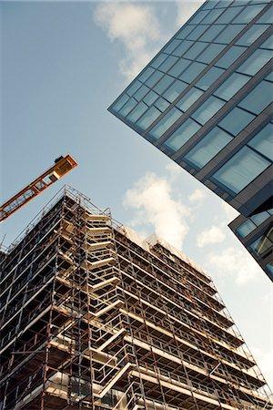 Building under construction, Sweden. Stock Photo - Premium Royalty-Free, Code: 6102-03904173