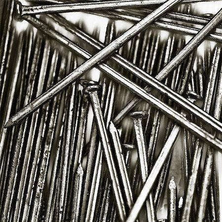 Nails, studio shot Stock Photo - Premium Royalty-Free, Code: 6102-06374461