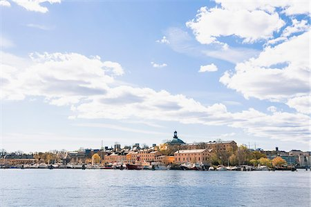 stockholm - View of old town of Stockholm Stock Photo - Premium Royalty-Free, Code: 6102-06374587