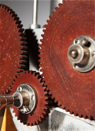 Gear wheels Stock Photo - Premium Royalty-Free, Code: 6102-06336766