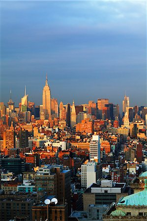 Manhattan skyline Stock Photo - Premium Royalty-Free, Code: 6102-06470838