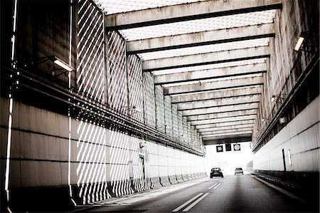 shadow - Cars driving through tunnel Stock Photo - Premium Royalty-Free, Code: 6102-06965610