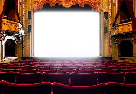 Cinema screen, Stockholm, Sweden Stock Photo - Premium Royalty-Free, Code: 6102-07521573