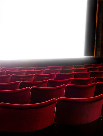 Cinema screen and seats, Stockholm, Sweden Stock Photo - Premium Royalty-Free, Code: 6102-07521572