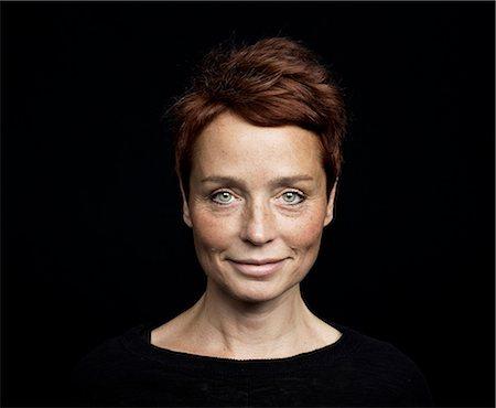 Portrait of a woman Stock Photo - Premium Royalty-Free, Code: 6102-07768350