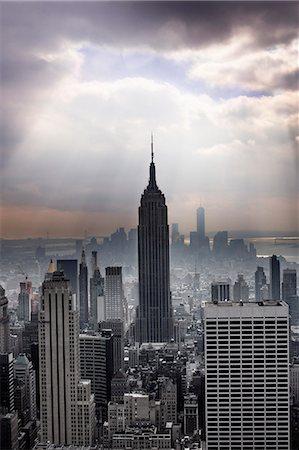 New York skyscrapers, New York City, USA Stock Photo - Premium Royalty-Free, Code: 6102-07768730