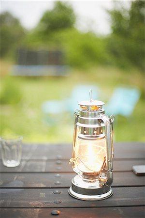 Paraffin lamp Stock Photo - Premium Royalty-Free, Code: 6102-07789803