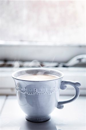 Cup of coffee Stock Photo - Premium Royalty-Free, Code: 6102-07789974