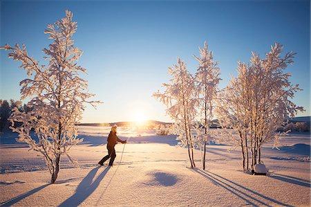 Person skiing Stock Photo - Premium Royalty-Free, Code: 6102-07790078