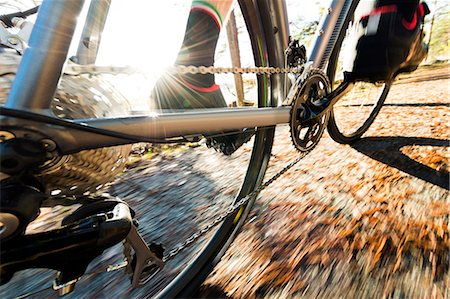 detail - Close-up of bicycle Stock Photo - Premium Royalty-Free, Code: 6102-07844208