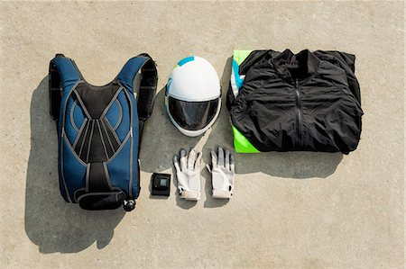 Skydiving equipment Stock Photo - Premium Royalty-Free, Code: 6102-08001432