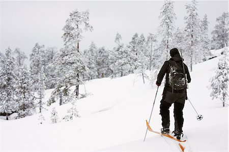Person skiing Stock Photo - Premium Royalty-Free, Code: 6102-08168854