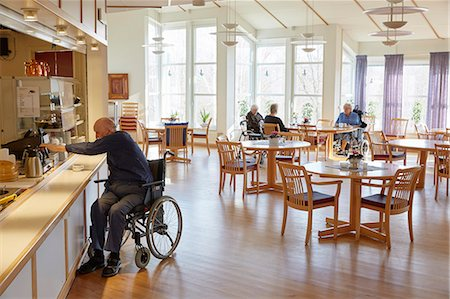 Senior man having coffee in dining room Stock Photo - Premium Royalty-Free, Code: 6102-08184209