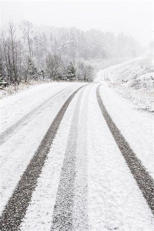 forward - Winter road Stock Photo - Premium Royalty-Free, Code: 6102-08120212