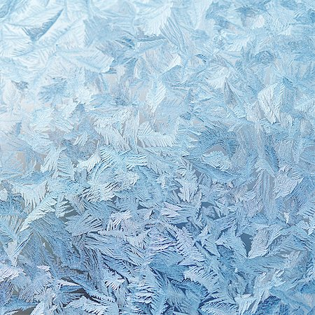 Ice crystals on glass Stock Photo - Premium Royalty-Free, Code: 6102-08271414