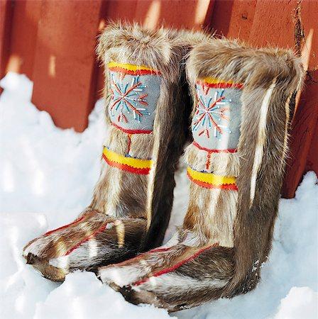 Lappish boots. Stock Photo - Premium Royalty-Free, Code: 6102-08768551