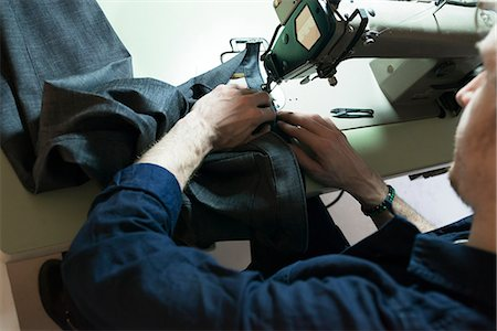 Tailor in workshop Stock Photo - Premium Royalty-Free, Code: 6102-08942475