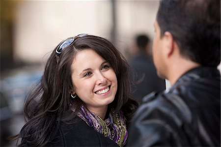 relationship - Couple talking to each other Stock Photo - Premium Royalty-Free, Code: 6105-05396682