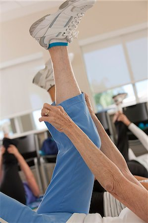 Women exercising in a health club Stock Photo - Premium Royalty-Free, Code: 6105-05397096