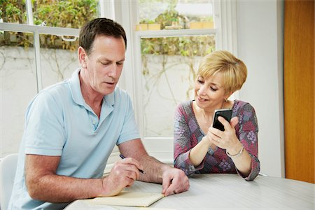 couple in their fifties hanging out together Stock Photo - Premium Royalty-Free, Code: 6106-05394099