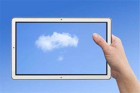 rectangle - Tablet PC Stock Photo - Premium Royalty-Free, Code: 6106-05394831