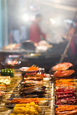 Chinese Street Food Stock Photo - Premium Royalty-Free, Code: 6106-05395301