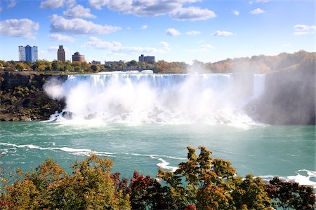 American Falls at Niagara Falls Stock Photo - Premium Royalty-Free, Code: 6106-05440825