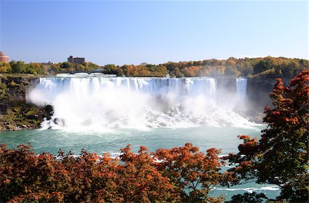 American Falls at Niagara Falls Stock Photo - Premium Royalty-Free, Code: 6106-05440826